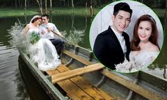 Chồng cũ của Phi Thanh Vân tình tứ chụp ảnh cưới cùng vợ mới