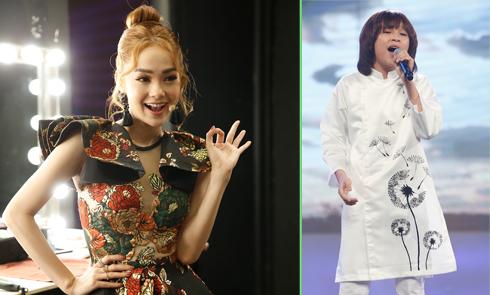 Minh Hằng muốn 'đẻ liền' khi xem Thiên Khôi trình diễn tại Idol Kids