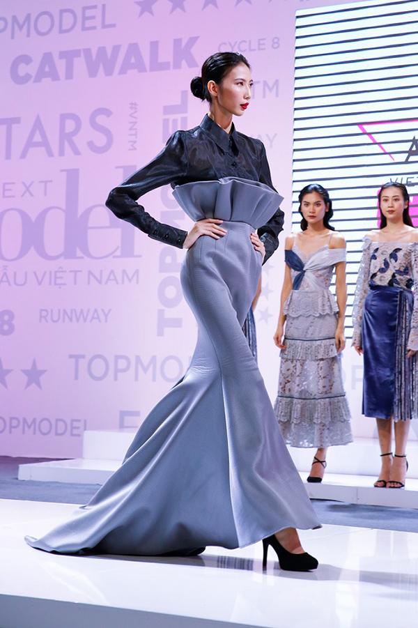 Cao Ngân, Cao Thiên Trang, Lại Thanh Hương, Chà Mi là 4 thí sinh lọt vào nhóm nguy hiểm. Để chọn ra 3 gương mặt đi tiếp, 4 cô gái đã cùng thàm gia phần thi catwalk với trang phục dạ hội.