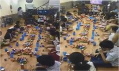 Nhóm học sinh nhí cùng hát 'Lạc trôi' của Sơn Tùng ở tiệc sinh nhật