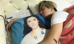 Fan quẳng gối in hình Song Hye Kyo đi vì 'thất tình'