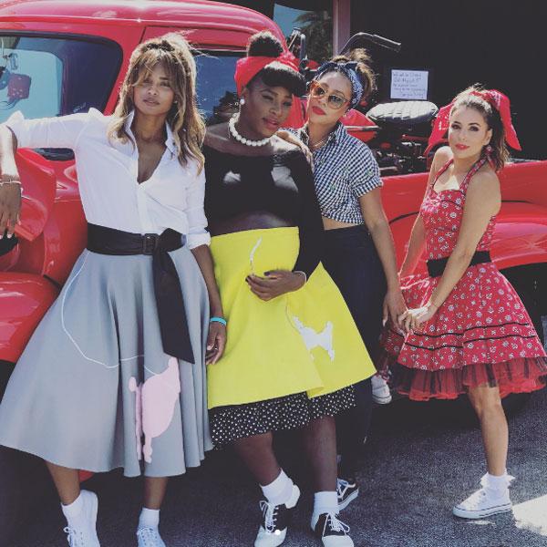 Các cô bạn của Serena đều