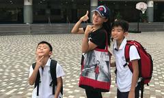 Trương Bá Chi bị nghi ngờ dùng hai con để 'xỏ xiên' Tạ Đình Phong