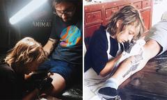 Cậu bé 12 tuổi trở thành thợ xăm hình nổi tiếng
