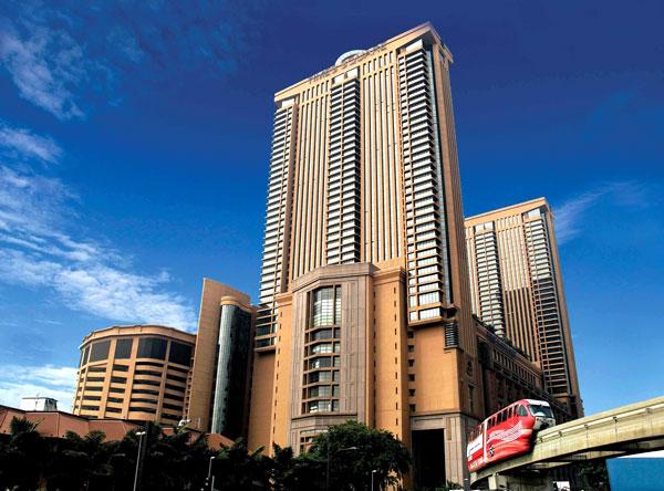Berjaya Times Square nằm ở trung tâm Kuala Lumpur. Ảnh: NS.