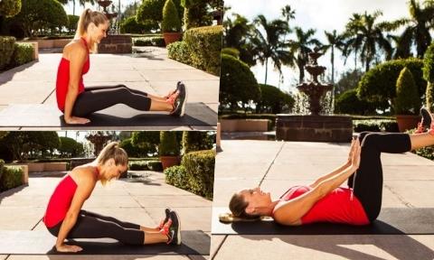 4 động tác giúp giảm mỡ bụng dưới hiệu quả nhất