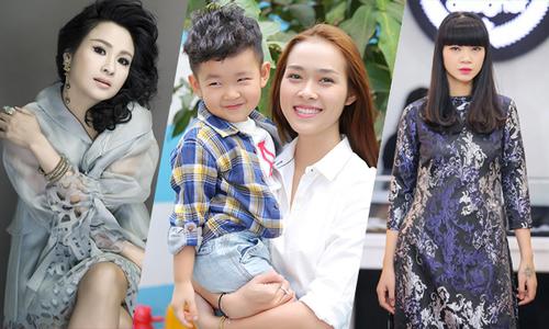 Những người đẹp Việt làm mẹ khi chưa đầy 20 tuổi