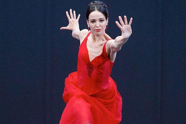 Vũ công ballet Diana Vishneva
