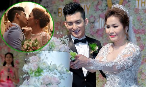 Bảo Duy hạnh phúc ngất ngây trong đám cưới với vợ Việt kiều Australia