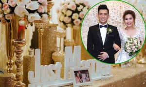 Những chi tiết tinh tế trong tiệc cưới 2 tỷ của Bảo Duy và vợ Việt kiều