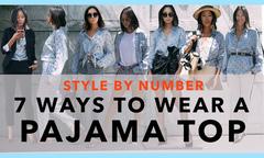 7 cách diện một chiếc áo pyjama sáng tạo