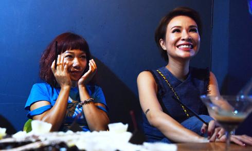 Hà Trần đón sinh nhật tuổi 40 bên Uyên Linh