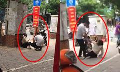 Nam thanh niên chửi mắng, đánh bạn gái ngất xỉu giữa phố Hà Nội