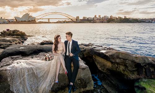 Ảnh cưới lãng mạn ở Australia của cặp đôi 8X Sài Gòn