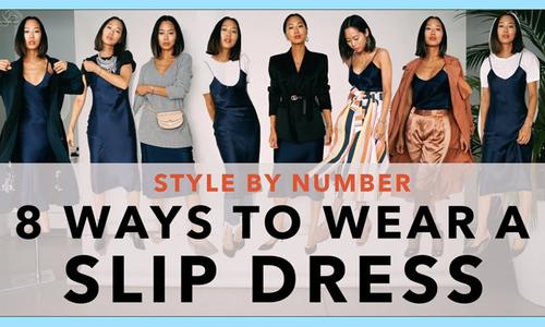 Một chiếc váy hai dây, 8 cách kết hợp độc đáo