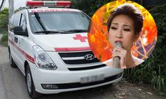 Xe cấp cứu đợi sẵn khi Lều Phương Anh thi chung kết 'Người hát tình ca'