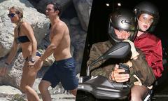 Orlando Bloom tắm biển cùng cô gái lạ sau ngày tái hợp với Katy Perry
