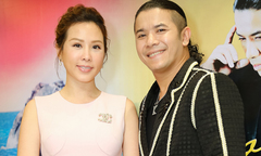Hoa hậu Thu Hoài đến ủng hộ Kasim Hoàng Vũ lần đầu làm họp báo sau 9 năm