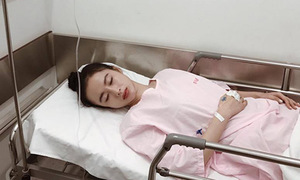 Angela Phương Trinh bị sốt xuất huyết phải nhập viện khiến fan lo lắng
