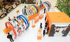Cửa hàng pop-up mới mở của Hermès hút giới trẻ TP HCM