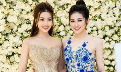 Hoa hậu Đỗ Mỹ Linh mặc lộng lẫy như công chúa đi sự kiện