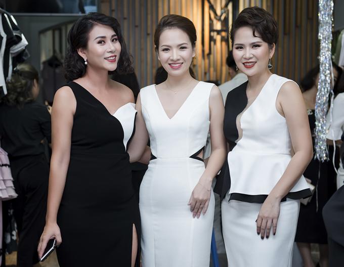 Cô chúc mừng hai nhà thiết kế Ly Eva, Hà Minh Phúc