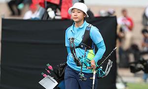 Nữ cung thủ Việt Nam rưng lệ vì lỡ HC vàng SEA Games