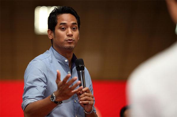 Bộ trưởng Bộ thanh niên và thể thao Malaysia