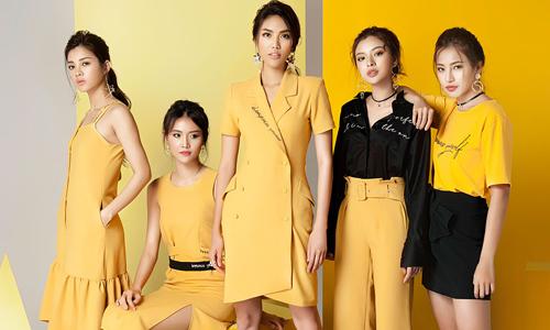 Team Lan Khuê khoe cá tính với trang phục của Midu