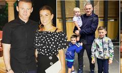 Bà xã Rooney thừa nhận mang bầu lần thứ 4