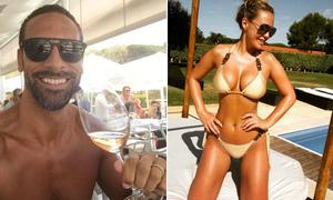 Đi nghỉ với bạn gái mới, Rio Ferdinand vẫn đeo nhẫn cưới
