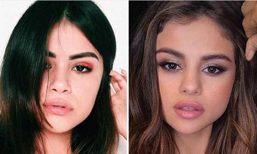 Fan nữ như thể chị em song sinh của Selena Gomez