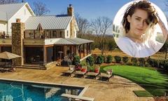 Miley Cyrus mua trang trại rộng 13 ha ở quê nhà