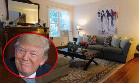 Nhà ông Trump sống thời thơ ấu trở thành căn hộ cho du khách thuê trọ