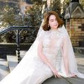 Ngọc Trinh quyến rũ với váy cưới của Đỗ Long