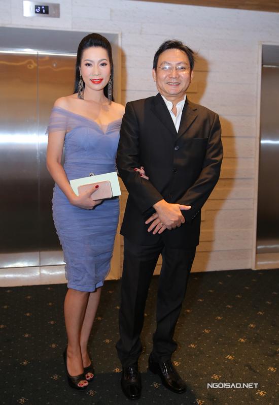 Vợ chồng Á hậu Trịnh Kim Chi