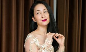 Linh Nga làm nàng thơ trong BST váy cưới của NTK Phương Linh