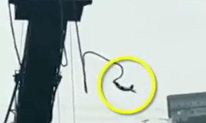Thoát chết sau khi rơi tự do từ độ cao 15 mét xuống sông