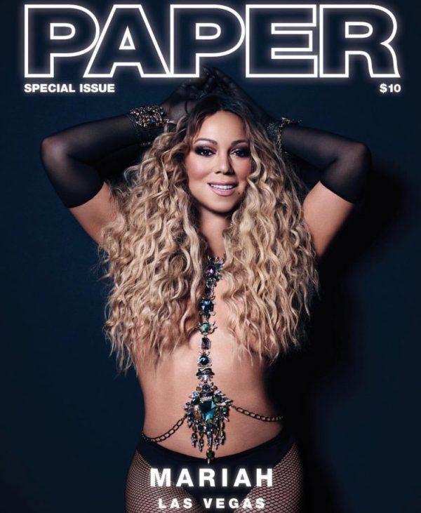 Giọng ca 47 tuổi táo bạo cởi áo khoe thân trên tạp chí Paper số đặc biệt.