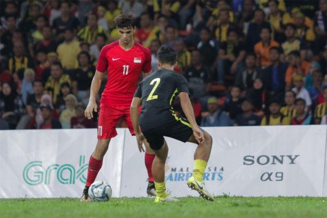 U22 Singapore đã bị loại