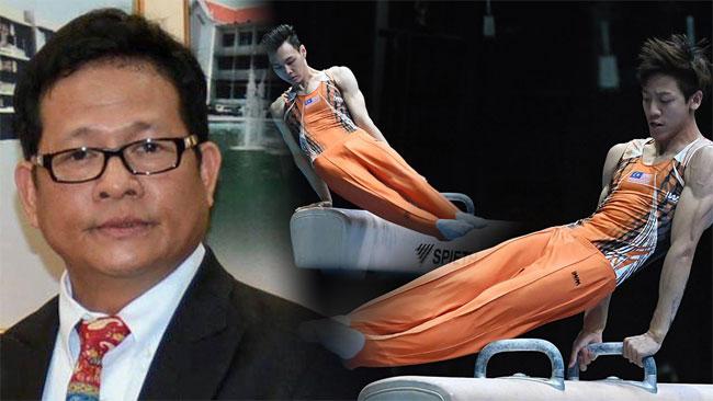 Chủ tịch Liên đoàn Thể dục dụng cụ Thái Lan phản ứng
