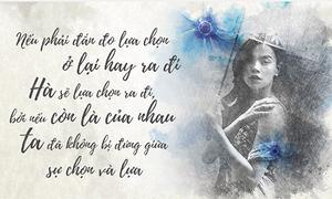 14 quan niệm của Hồ Ngọc Hà trong tình yêu