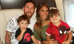 Vợ chồng Messi sắp có con thứ ba