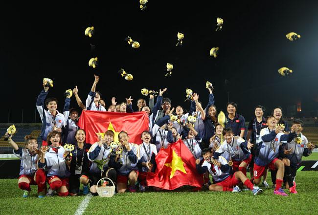 Tuyển nữ Việt Nam lên ngôi vô địch SEA Games sau 8 năm