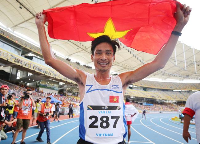 SEA Games 28, Nguyễn Văn Lai vô địch 10.000m và 5.000m, năm nay anh chỉ bảo vệ được HC vàng 5.000m