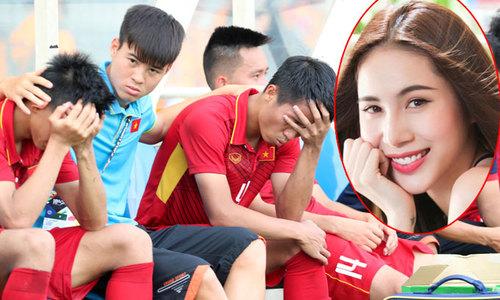 Thủy Tiên chê SEA Games là ao làng, muốn xem V-League có CLB của chồng