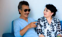 Hương Lan hạnh phúc khi có ông xã chăm sóc trong dịp biểu diễn ở Hà Nội
