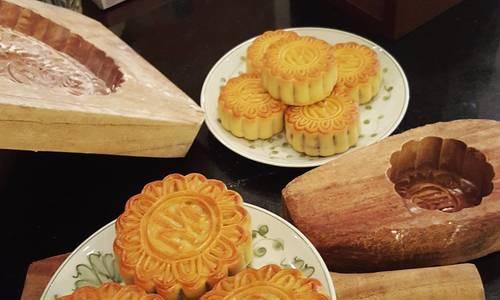 Cách làm bánh nướng Trung thu vị truyền thống