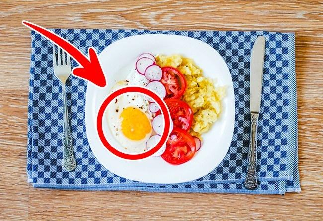 Thêm trứng vào bữa sáng