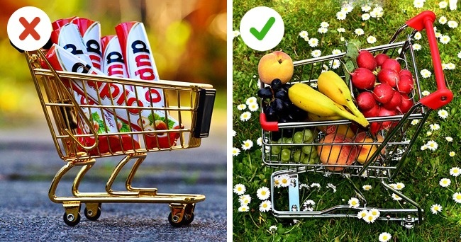 Không mua đồ ăn vặt